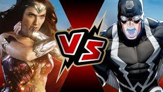 Wonder Woman VS Black Bolt | BATTLE ARENA