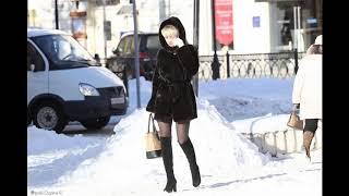 Одевайся! Женщина в зимних условиях
