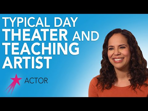 Actor: Typical Day - Lauren Spencer Career Girls Role Model