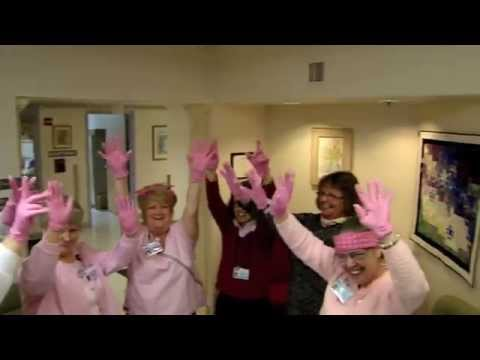 Pink Gloves for Bar Harbor Hospital