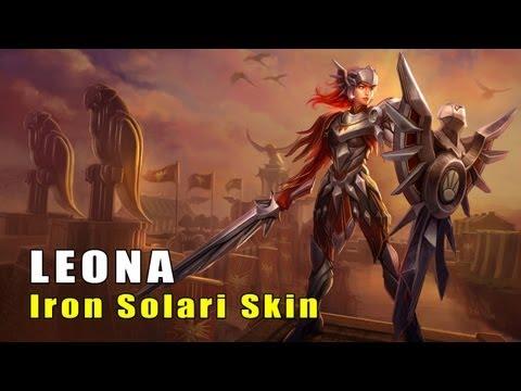 Iron Solari Leona Skin (League of Legends)