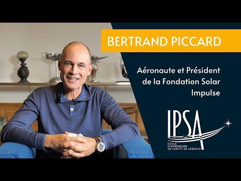 Bertrand Piccard, cofondateur de la Fondation Solar Impulse, s'adresse aux étudiants de l'IPSA !