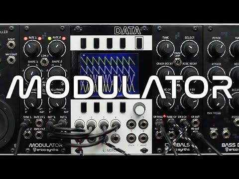 Erica Synths Drum Modulator demo