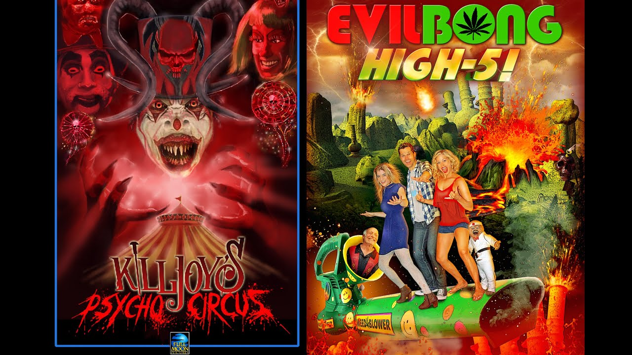 Indiegogo Full Moons Evil Bong and Killjoy film sequels