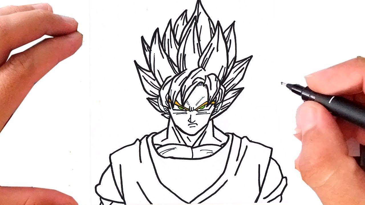 Como Desenhar O Goku Super Sayajin 1 Dragon Ball Z