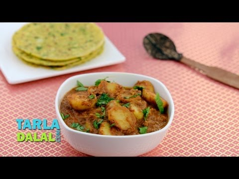 Spicy Potato by Tarla Dalal