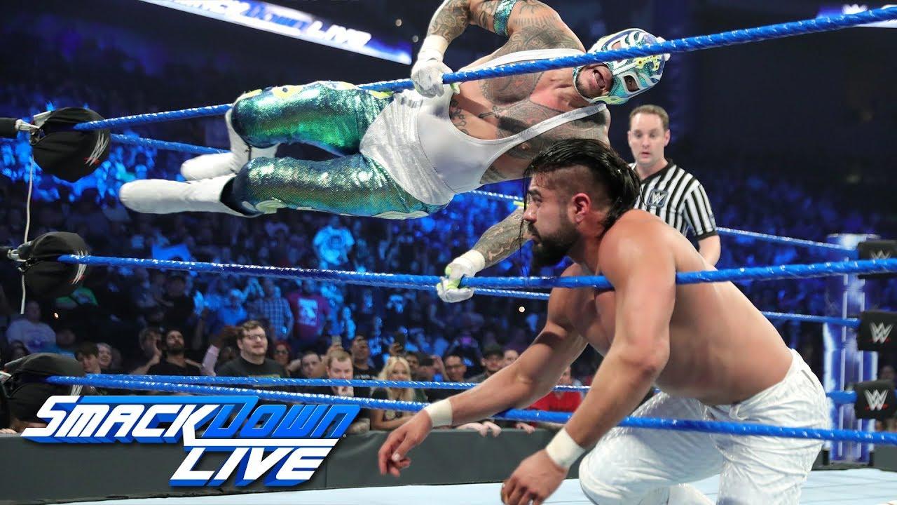 Rey Mysterio & Mustafa Ali vs. Samoa Joe & Andrade