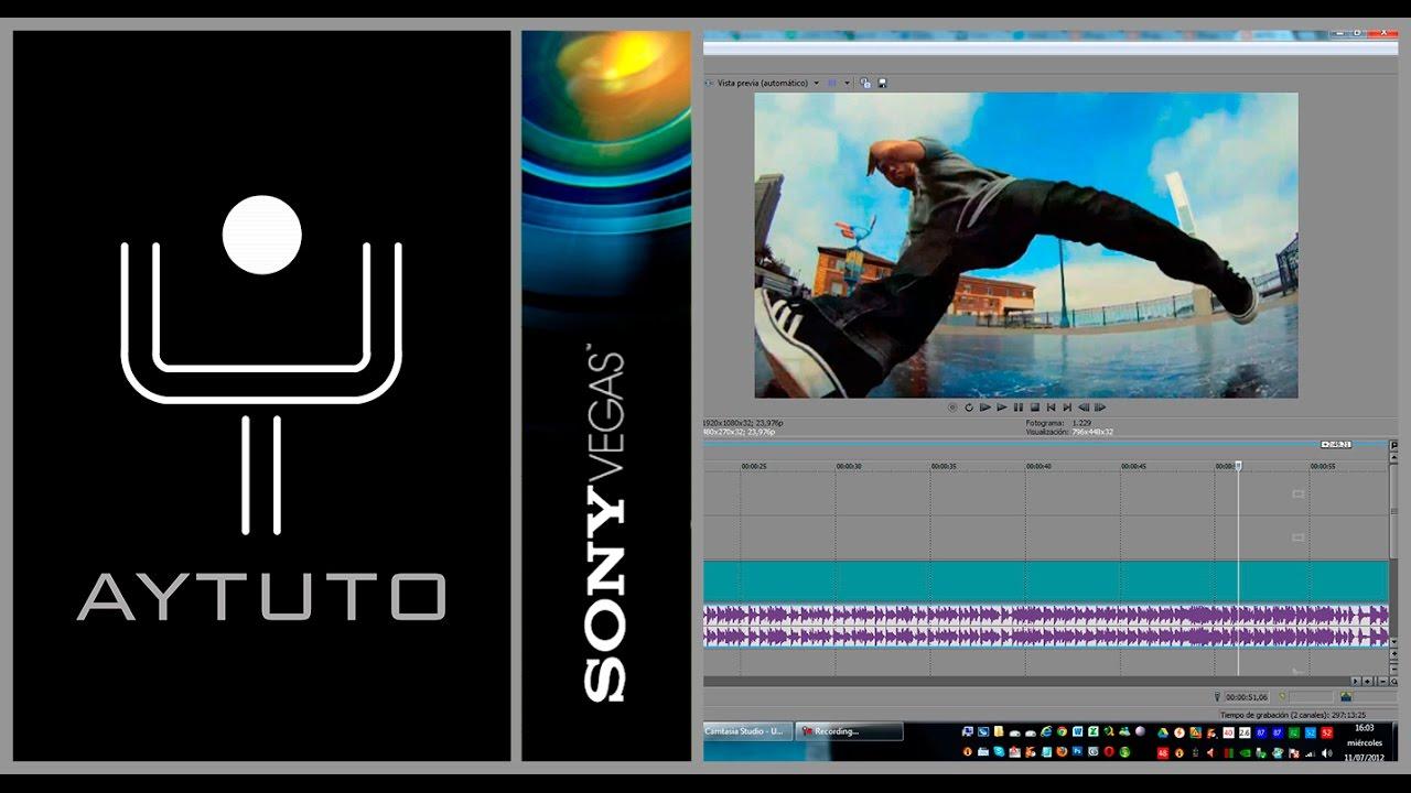 Congelar la imagen en SONY VEGAS STUDIO HD - YouTube