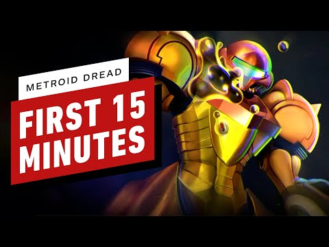 Metroid Dread: The First 15 Minutes of Gameplay