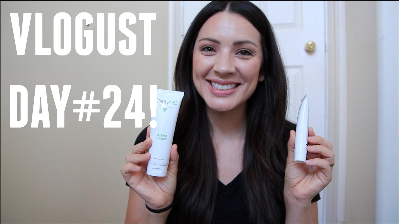 Vlogust Day 24 Clarity Md Review And Giveaway Michelle Pearson