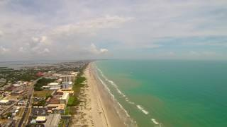 Cocoa Beach Super Boat Race Aerial Time Lapse Video