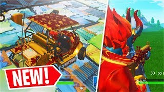 *NEW* Golden Clouds Wrap Showcase + Firewalker Skin (Fortnite)