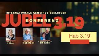 Interview mit Robert Henderson und Maria Prean   Jubel Konferenz 3.19