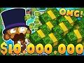 HOW TO MAKE $15,000,000 (HIGHEST ROUND EVER)! - BLOONS TOWER DEFENSE BATTLES (BTD BATTLES)