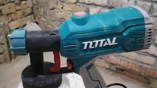 Обзор и отзыв о краскопульте (краскораспылителе) Total TT3506