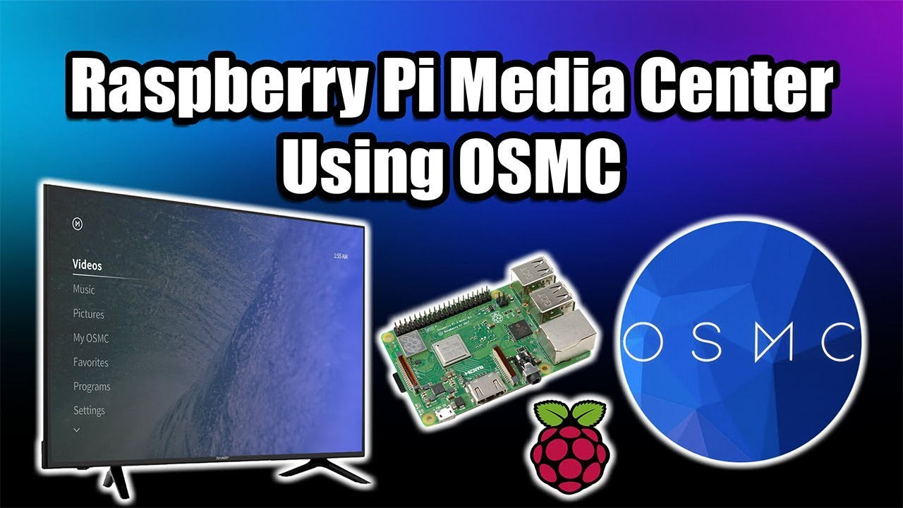 Turn a Raspberry Pi into an Awesome Media Center Using OSMC #piday