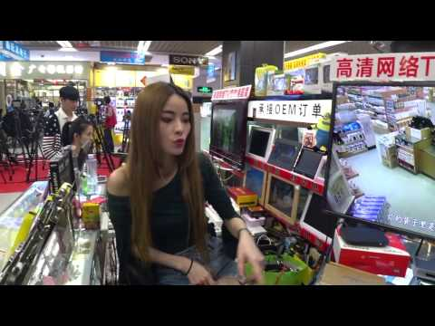 Huaqiangbei, Shenzhen. Shopping for a Mini Drones & fidget spinners.