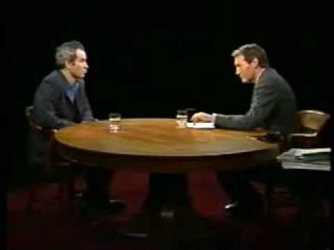 John McEnroe and Charlie Rose -