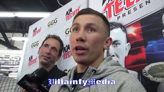 """GENNADY GOLOVKIN GOT MAD PROPS FOR DMITRY BIVOL BRINGING """"NEW SCHOOL"""" HAS CHANGED SITUATION AT 175LB"""