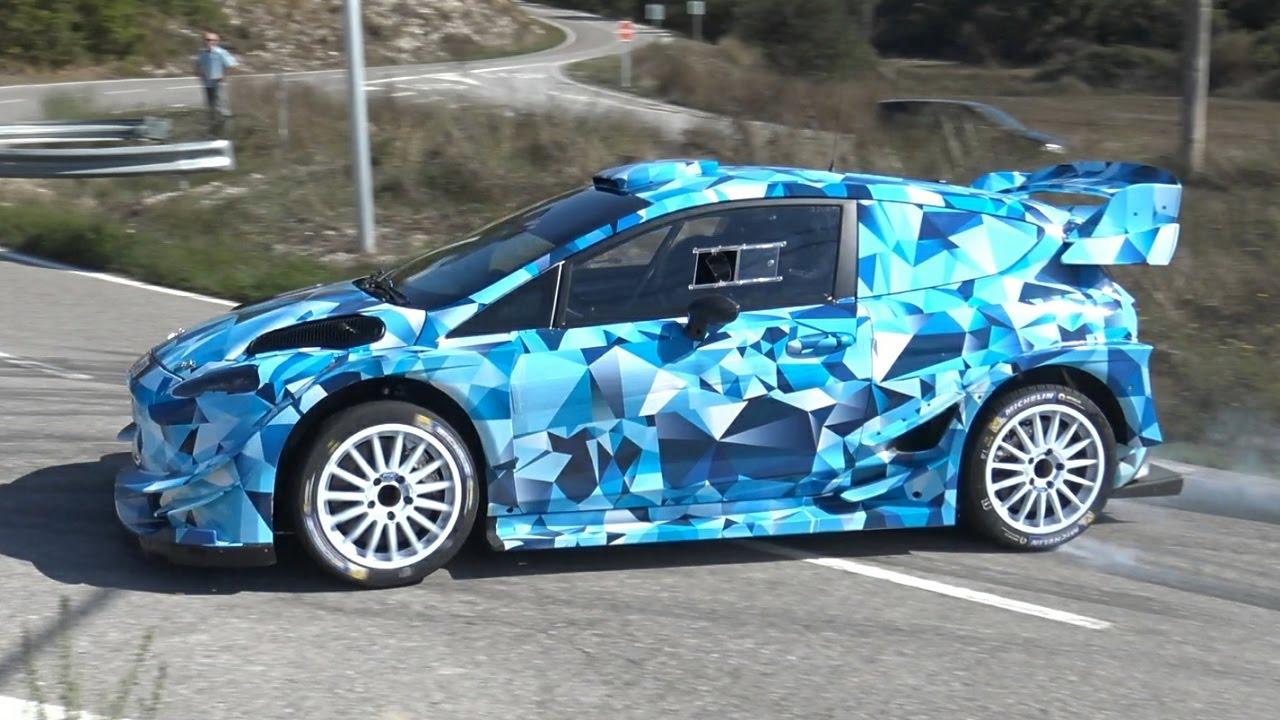 Rally Car Wallpaper Snow Test Ott Tanak Ford Fiesta Wrc 2017 Ultimate Car By