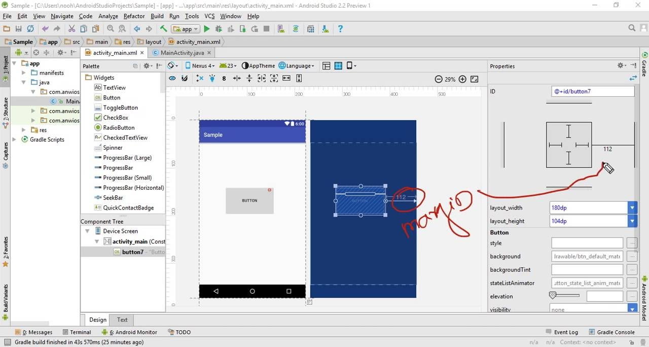 Start with constraintlayout android studio youtube start with constraintlayout android studio malvernweather Image collections