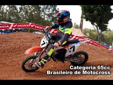 Campeonato Brasileiro Motocross 2017 - Charqueada SP Categoria 65cc