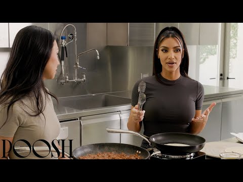 PYW Spring 2021: Kim Kardashian West Vegan Cooking Tutorial Presented by Beyond Meat | Poosh