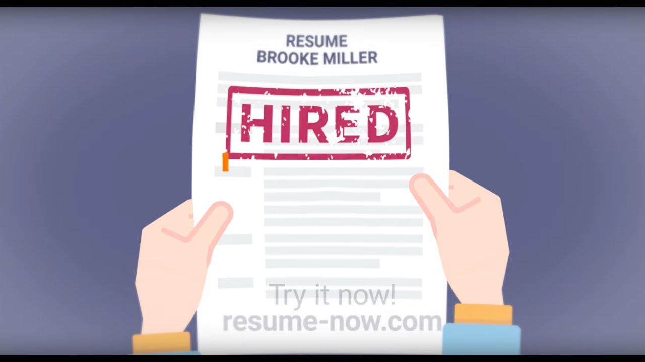 Resume Now Your Fastest Way To A Mistake Free