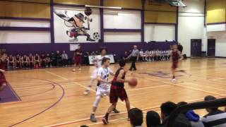 WVSS Junior Basketball vs Vancouver  College Part 2