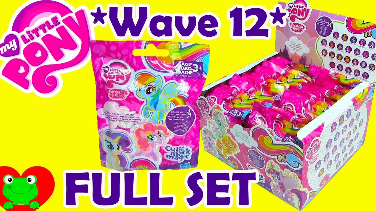 My Little Pony Blind Bags Wave 12 Cutie Mark Magic Full