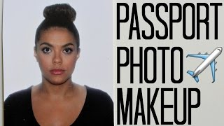 Passport Photo Makeup | samantha jane