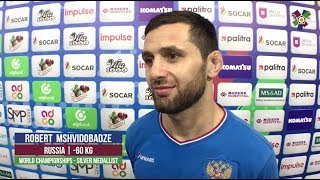 World Judo Championships 2018 - Interview with Robert MSHVIDOBADZE (RUS)