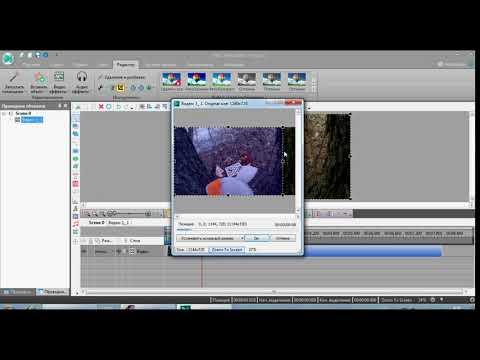 Как сделать черные полоски по бокам или сверху снизу видео в VS DC Free Video Editor