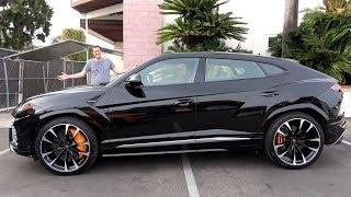 Вот как едет Lamborghini Urus