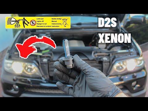 Замена Ксеноновых Ламп D2S BMW X5 E53 Xenon Bulb Replacement DIY