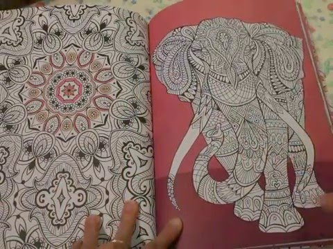 Creative Therapy An Anti Stress Coloring Book Youtube