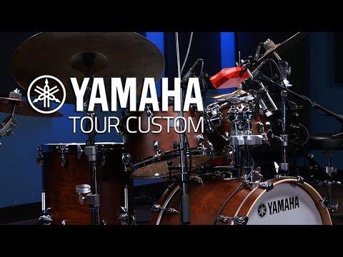 Yamaha Tour Custom Drums - Drumeo