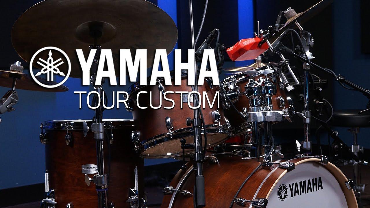 yamaha tour custom drums drumeo youtube. Black Bedroom Furniture Sets. Home Design Ideas