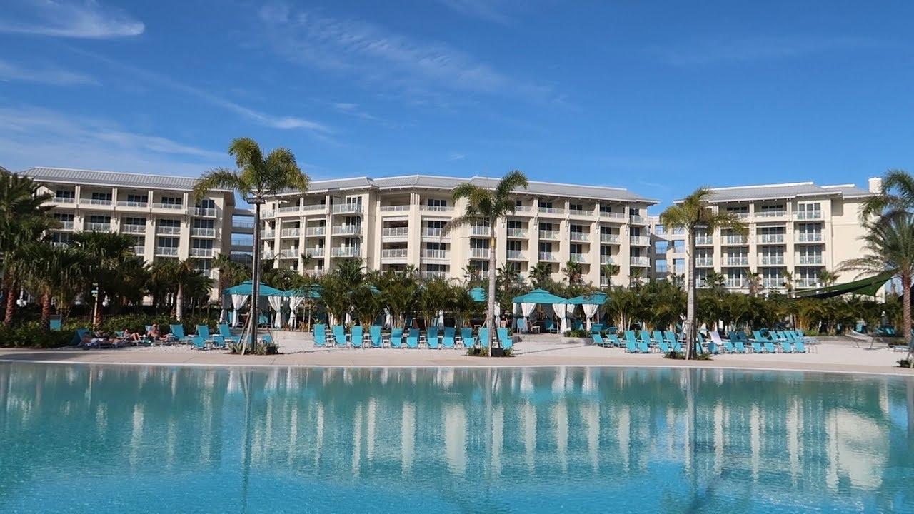 Touring The New Margaritaville Resort & Grounds   Rental Cottage Tour,  Pools & Restaurants!