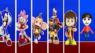 Sonic & SEGA All-Stars Racing - All Characters