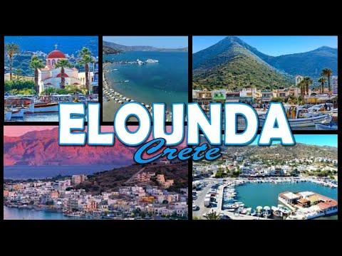 ELOUNDA - Crete (4K)