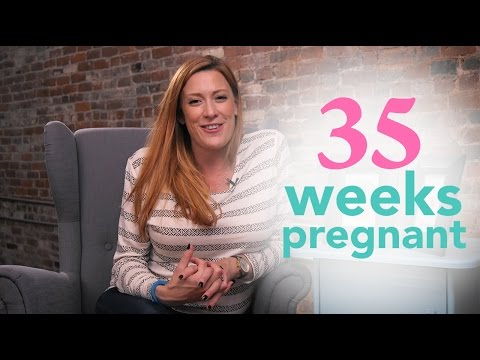 35 Weeks Pregnant Ovia Pregnancy