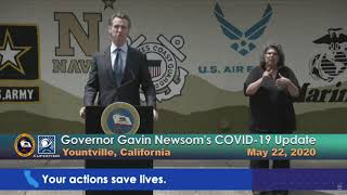 Governor Newsom's COVID-19 Update - May 22, 2020