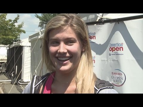 World No. 8 Eugenie Bouchard at Connecticut Open