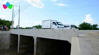 Nicaragua: Inauguran caja puente entre La Cuesta El Plomo y el Reparto Santa Eduviges