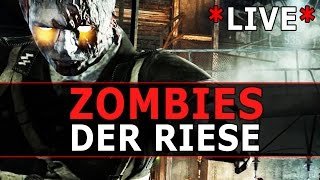 Der Riese ZOMBIES - High Round Attempt w/ ActionPacked - BO1 *LIVE*