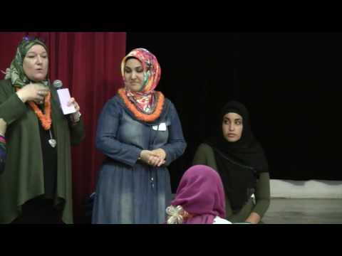 BWA and Muslim Women Make Connections: Hijab and Henna