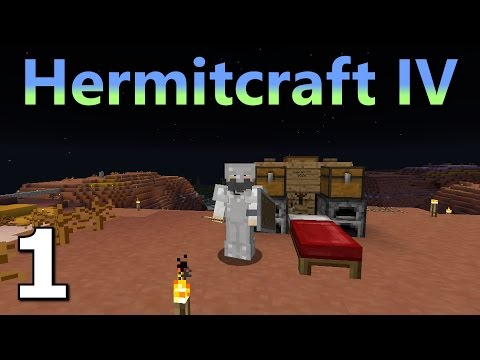 Hermitcraft 4 Ep. 1- Mesa'n Around
