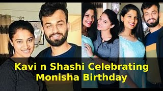 Kavi n Shashi Celebrating Monisha Birthday