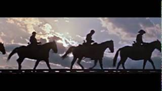 I Left My Love/US Cavalry Song-The Horse Soldiers/John Ford- Les Cavaliers (En/Fr Lyrics)